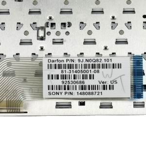 Compatible with SONY VGN-SR72B/S Keyboard